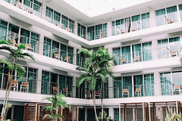balkony hotelu