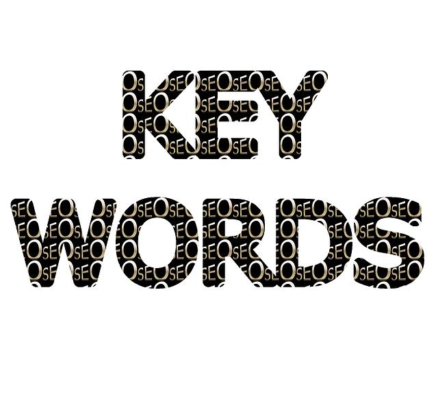 klíčové slovo