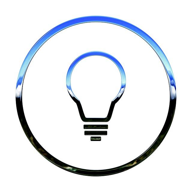 ikona žárovky