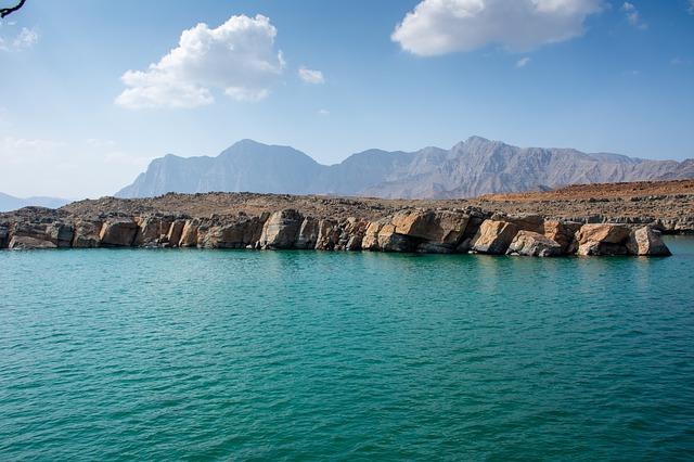 Krásná příroda Ománu