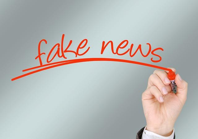 Fake news neboli falešné zprávy
